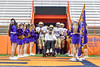 Christian Brothers Academy are lead onto the field agianst the Cicero-North Syracuse Northstars by Kyle Francis before playing in the Section III Class AA Football Championship game at the Carrier Dome in Syracuse, New York on Saturday, November 5, 2016.