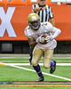 Christian Brothers Academy DeAndre Dowdell (2) fields the opening kick-off against the Cicero-North Syracuse Northstars in Section III Class AA Football Championship action at the Carrier Dome in Syracuse, New York on Saturday, November 5, 2016. CBA won 27-14.