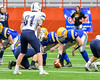 Cazenovia Lakers Center Jack Eldred (74) playing against the Homer Trojans in Section III Class B Football Championship action at Carrier Dome in Syracuse, New York on Sunday, November 6, 2016.