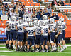 Homer Trojans getting ready to  playe the Cazenovia Lakers in the Section III Class B Football Championship game at the Carrier Dome in Syracuse, New York on Sunday, November 6, 2016.
