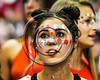 Baldwinsville Bees students at the game against the Corning Hawks in the 2017 Kick Off Classic at the Carrier Dome in Syracuse, New York on Thursday, August 31, 2017.  Baldwinsville won 35-7.