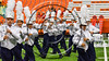 Cicero-North Syracuse Northstars Marching Band performs during halftime of the 2017 Kick Off Classic at the Carrier Dome in Syracuse, New York on Thursday, August 31, 2017.