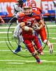 Fairport Red Raiders in the 2017 Kick Off Classic at the Carrier Dome in Syracuse, New York on Thursday, August 31, 2017. Cicero-North Syracuse won 45-14.