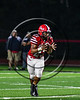 Baldwinsville Bees EJ Edmonds (23) receiving a pitch against the Liverpool Warriors in Section III Football action at the Pelcher-Arcaro Stadium in Baldwinsville, New York on Friday, September 22, 2017.  Baldwinsville won 35-7.