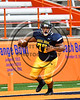 General Brown Lions Damien Zawatski (77) picked up a Skaneateles Lakers fumble for a touchdown in Section III Class C Football Championship game action at the Carrier Dome in Syracuse, New York on Saturday, November 4, 2017. Skaneateles won 66-27.