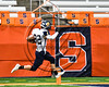 Skaneateles Lakers Nate Wellington (82) scores a touchdown against the General Brown Lions in Section III Class C Football Championship game action at the Carrier Dome in Syracuse, New York on Saturday, November 4, 2017. Skaneateles won 66-27.