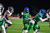 Cicero-North Syracuse Northstars Jeremiah Willis (2) running with the ball against the Elimira Express in NYS Regional Finals Class AA Football game action at the Micheal Bragman Stadium in Cicero, New York on Saturday, November 10, 2018. Cicero-North Syracuse won 42-20.
