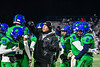 Cicero-North Syracuse Northstars Special Teams coach getting the kick off squad ready to play against the Elimira Express in the NYS Regional Finals Class AA Football game at the Micheal Bragman Stadium in Cicero, New York on Saturday, November 10, 2018.