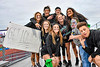 Cicero-North Syracuse Northstars students participating in the Black Out at a Section III football game against the Liverpool Warriors at the Micheal Bragman Stadium in Cicero, New York on Friday, September 13, 2019.