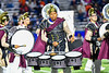 Cicero-North Syracuse Northstars Marching Band entertains during halftime of a Section III football game at the Micheal Bragman Stadium in Cicero, New York on Friday, September 13, 2019.