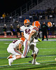 Liverpool Warriors Jacob Graser (64) kicks a field goal against the Cicero-North Syracuse Northstars in Section III football game action at the Micheal Bragman Stadium in Cicero, New York on Friday, September 13, 2019. Liverpool won 10-0.