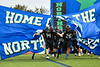 Cicero-North Syracuse Northstars take the field before playing the Liverpool Warriors in a Section III football game at the Micheal Bragman Stadium in Cicero, New York on Friday, September 13, 2019.
