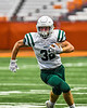Fayetteville-Manlius Hornets Jac Nucerino (32) running with the ball against the Liverpool Warriors in the 2019 Kickoff Classic at the Carrier Dome in Syracuse, New York. Liverpool won 21-7.