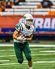 Fayetteville-Manlius Hornets Ethan Page (10) running with the ball against the Liverpool Warriors in the 2019 Kickoff Classic at the Carrier Dome in Syracuse, New York. Liverpool won 21-7.
