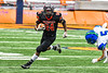 Utica-Proctor Raiders Patrick Minor (24) running with the ball against the Cicero-North Syracuse Northstars in Section III Class AA Championship Football game action at the Carrier Dome in Syracuse, New York on Saturday, November 9, 2019. Cicero-North Syracuse Northstars won 28-25.