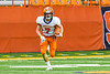 Solvay Bearcats Blaine Franklin (7) returning the kick-off against the Oneida Indians in Section III Class B Championship Football game action at the Carrier Dome in Syracuse, New York on Saturday, November 9, 2019. Solvay won 14-7.