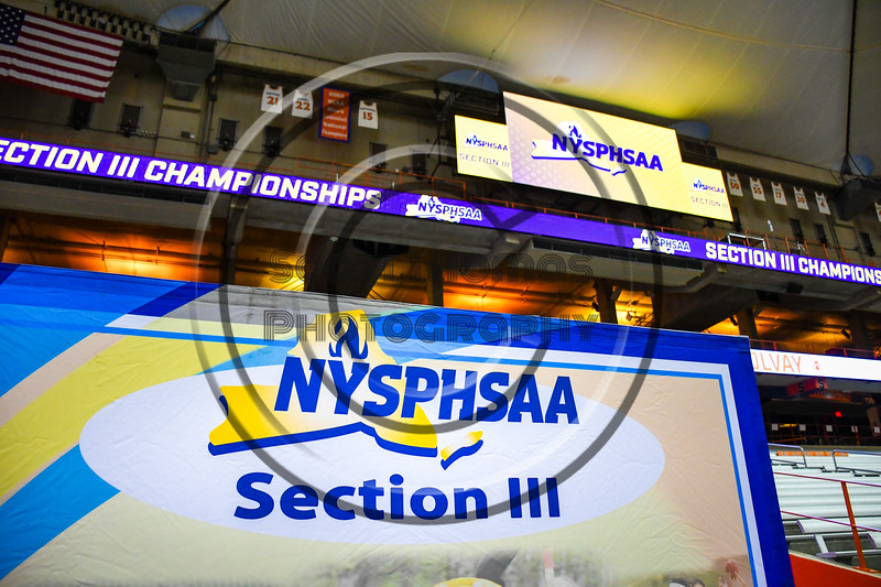 Solvay Bearcats played the Oneida Indians in Section III Class B Championship Football game action at the Carrier Dome in Syracuse, New York on Saturday, November 9, 2019. Solvay won 14-7.