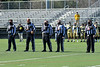 Fayetteville-Manlius Hornets played the West Genesee Wildcats in Section III Football action at Mike Messere Field in Camillus, New York on Saturday, April 3, 2021.