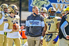 West Genesee Wildcats Head Coach Joe Corley before playing the Fayetteville-Manlius Hornets in a Section III Football game at Mike Messere Field in Camillus, New York on Saturday, April 3, 2021.