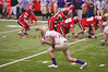 New York Section III Football Championship game between Christian Brothers Academy (CBA) and Baldwinsville Bees. Baldwinsville won the game 30-12.