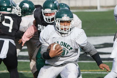 Handy Ellison Saturday during Maloney practice at Falcon Field in Meriden  Nov 22, 2014 | Justin Weekes / For the Record-Journal