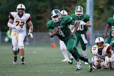Friday at Falcon Field in Meriden Sep. 11, 2015 | Justin Weekes / For the Record-Journal