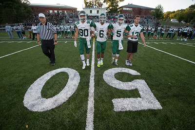 Maloney Spartans kick off their home opener with Hartford Public Friday at Falcon Field in Meriden Sep. 16, 2016 | Justin Weekes / For the Record-Journal