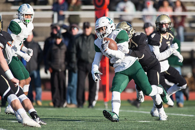 Saturday during the CIAC Class L final at Veterans Stadium in New Britain  December 8, 2018 | Justin Weekes / Special to the Record-Journal