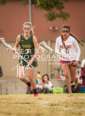 Edison Girls Lacrosse vs LB Wilson-23-2