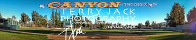 Canyon Baseball Pano