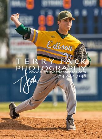 Edison @ Fountain Valley Baseball-4