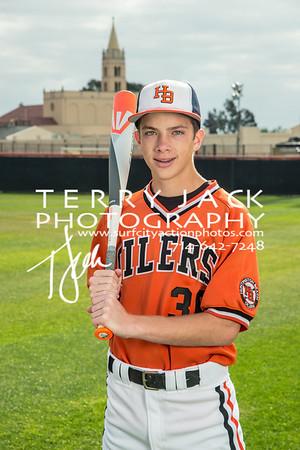 2015 HBHS Baseball -045