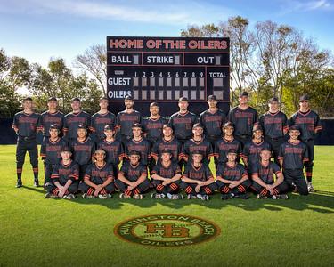 HB Varsity Team 2016 16x20
