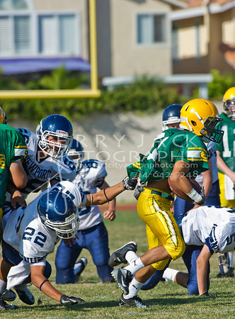Newport Harbor @ Edison 2012 Frosh Football_6268