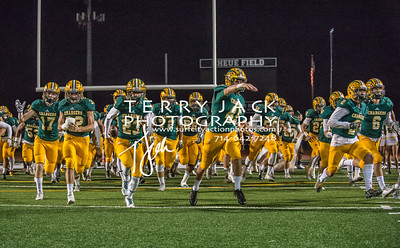 Edison defeats Newberry Park 49-24 in the first round of the playoffs.