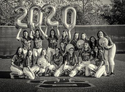 Jserra Softball  Group 2020-16 bw