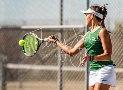 Edison vs  Cypress Girls Tennis-13nik