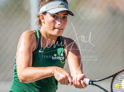 Edison vs  Cypress Girls Tennis 2-33nik