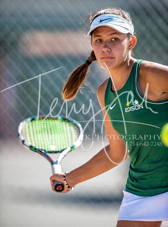 Edison vs  Cypress Girls Tennis 2-7nik