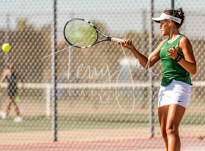 Edison vs  Cypress Girls Tennis-7nik