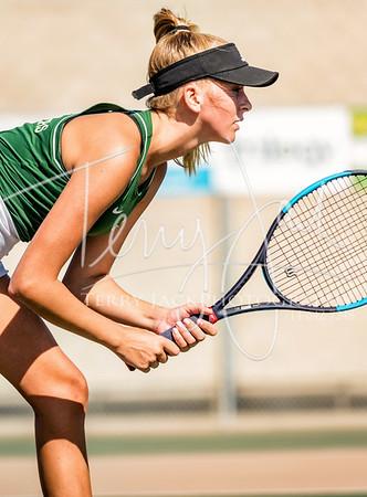 Edison vs  Cypress Girls Tennis-89nik
