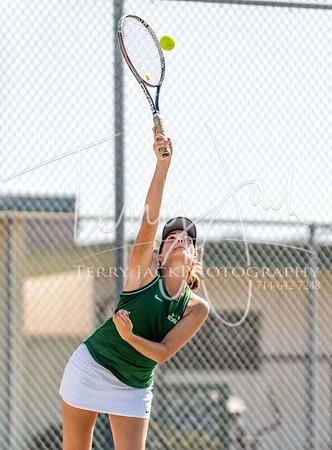 Edison vs  Cypress Girls Tennis-73nik