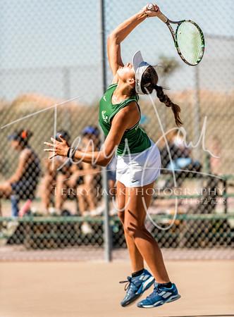Edison vs  Cypress Girls Tennis-4nik