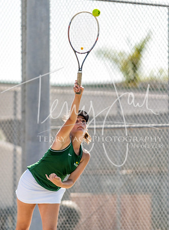 Edison vs  Cypress Girls Tennis-58nik