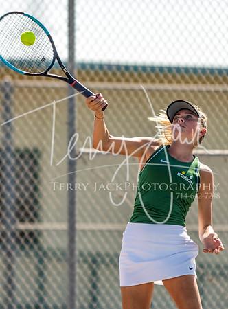 Edison vs  Cypress Girls Tennis-39nik