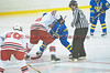 Start of thrid period in High School Boys Varisty Ice hockey action on Friday, January 15, 2010. West Genesee won 4-0.