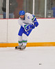 Cicero-North Syracuse Northstars captain Brian Hamilton (25) passes the puck against the Baldwinsville Bees at the Twin Rinks of Cicero, New York on Friday, January 14, 2011.  CNS won 7 to 4.