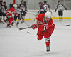 Baldwinsville Bees Shanne O'Brien (25) during warms up before a game against the Corcoran Cougars at Mechem Rink in Syracuse, New York on Wednesday, December 22, 2010.