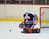 Liverpool Warriors Daniel Wu (32) in pre-game skate before playing the Solvay Bearcats in Game 2 of the Kings of the Coliseum Hockey Tournament on Monday, December 27, 2010.  Solvay won 6 to 2.