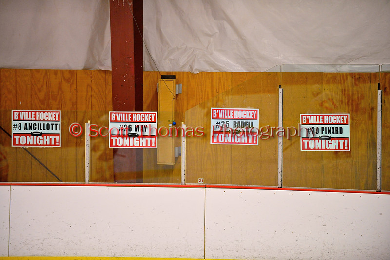 Baldwinsville Bees Senior Night before the game against the Watertown IHC Cavaliers at the Greater Baldwinsville Ice Arena in Baldwinsville, New York on Friday, January 18, 2013.